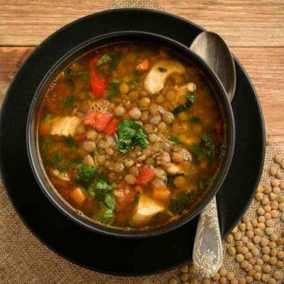 Pratik Yeşil Mercimek Çorbası Tarifi - Yeşil mercimek çorbası yemeği