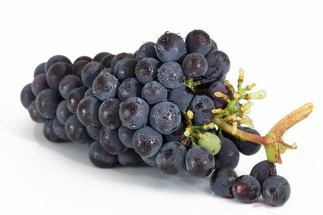 siyah üzüm kalori oranı - siyah üzüm besin değeri - siyah üzümün faydaları