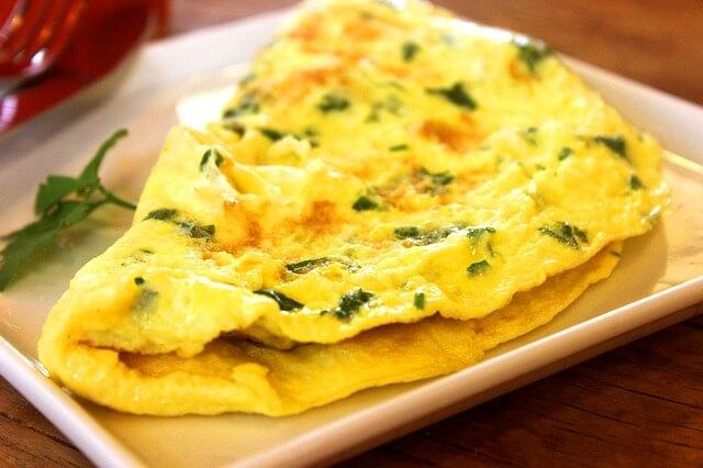 1 adet Maydanozlu Omlet Kaç Kalori - Maydanozlu Omlet besin değeri